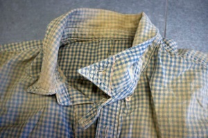 gingham pullover detail